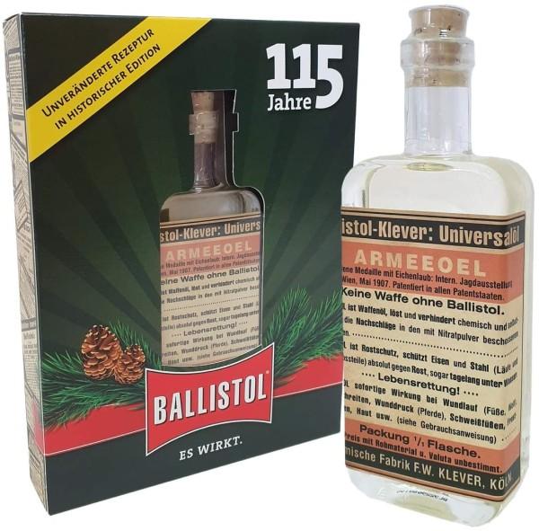 Ballistol Universalöl in Glasflasche in der Geschenkbox