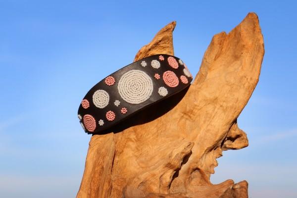 Pink Dots TKC Massaihalsband